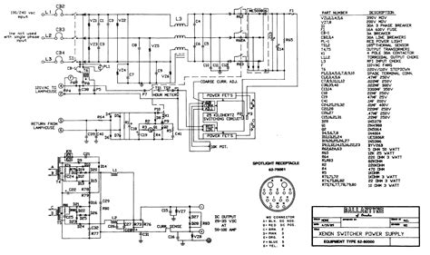 Schematic And Wiring Diagram by Strong 2 5kw Xenon L Ballast Teardown ω Labs