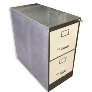 2 Drawer Letter File Cabinet by Vintage Retro Steel Vertical File Cabinet Customized