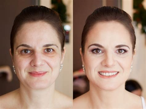 Before & After Makeup  Modern Makeup