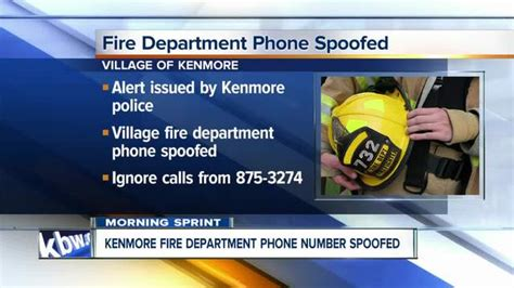 buffalo news phone number scammers may be using kenmore dept number wkbw