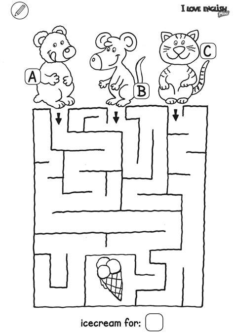 love english mini labyrinth eis
