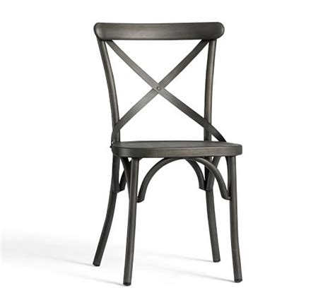 x back bistro chair pottery barn