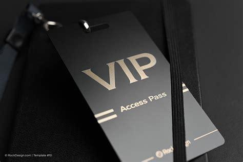 print    club vip business card templates