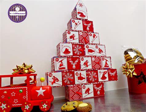 Idée Cadeau Calendrier De L Avent Calendrier De L Avent Garni De Cookies