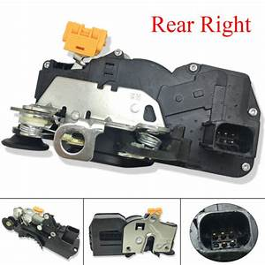 Door Lock Actuator Rear Right For 2007