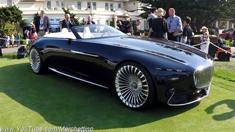 The Vision Mercedes-maybach 6 Convertible Is Perfection On
