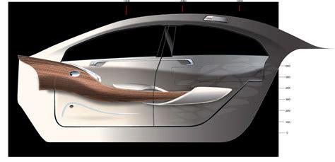 Interior Design Sketches Car