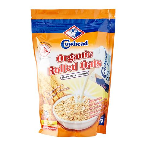 instant cereal cowhead baby oats instant organic rolled oats 500g from
