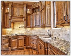 granite kitchen ideas mocha glaze kitchen cabinets home design ideas