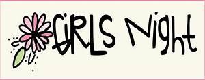All Things Girly Illustrating: Girls Night