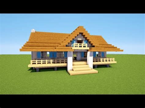 minecraft tuto comment faire une maison map