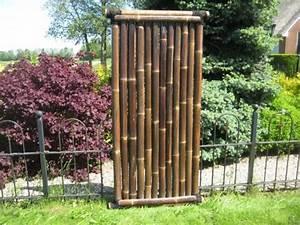 Sichtschutz 100 Cm Hoch : bambuszaun asagi 180 cm hoch x 90 cm breit sichtschutz aus bambus bambuszaun sichtschutz ~ Bigdaddyawards.com Haus und Dekorationen