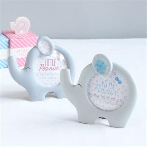 elephant photo frame baby shower favors