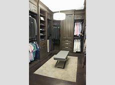 custom walk in closet with Croc ottoman ClosetWalkin