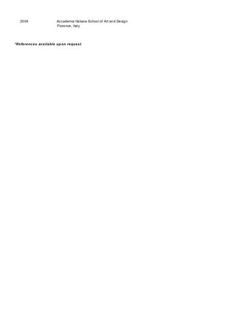 Resume of Anna LaVigne