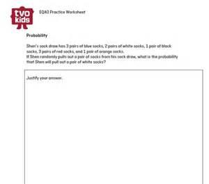 6 Grade Math Practice Worksheet