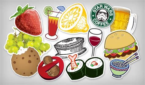 cuisine stickers food drink stickers stickeryou products