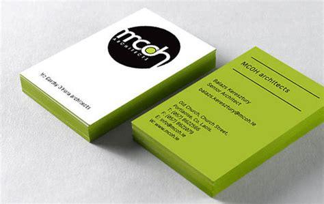 32 Inspiring Architect Business Card Designs