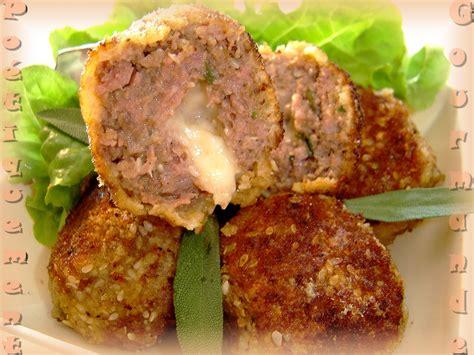 cuisiner boulette de viande recette boulettes de viande au coeur de mozzarella