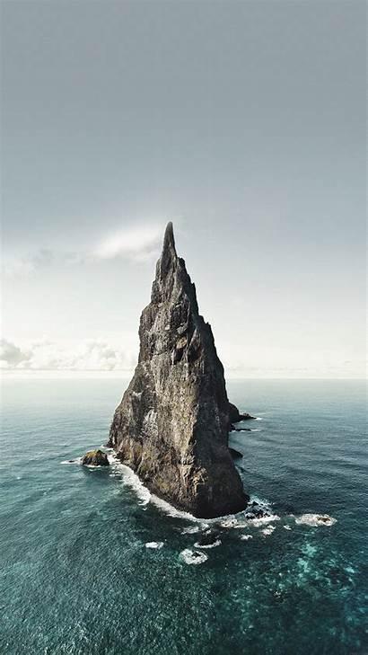 Ocean Iphone Rock Plus Nature Wallpapers 4k