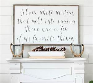 Silver White Winters That Melt Into Spring Winter Mantel