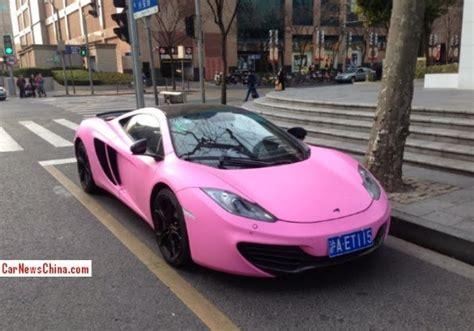 mclaren   matte pink wrap  china