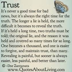 Quotes About Truth and Trust