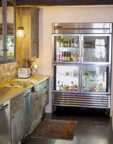Glass Door Kitchen Fridge