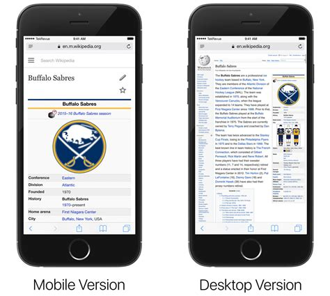 is safari on iphone how to view the desktop version of a website in ios 9 safari