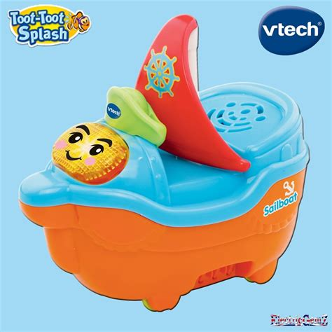 baby bureau vtech vtech baby toot toot splash sailboat