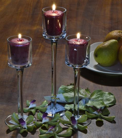 stem tealight candle holders yankee candle stemmed glass votive holders