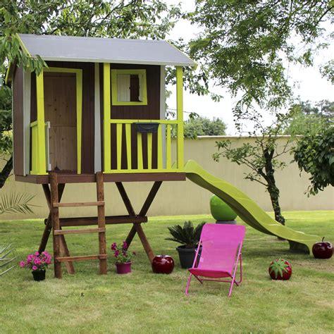 maisonnette bois maison dans les arbres soulet 5 95 m 178 leroy merlin
