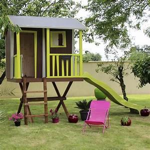 Cabane Enfant Leroy Merlin : maisonnette bois maison dans les arbres soulet m leroy merlin ~ Melissatoandfro.com Idées de Décoration