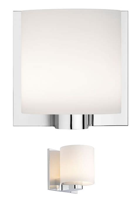 tilee wall light white chrome by flos made in design uk