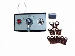 Rotary Switch With Wiring Kit  U0026 Mounting Plate