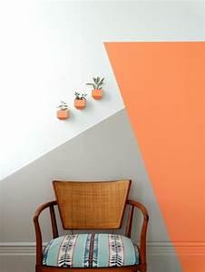 1001 idees pour votre peinture murale originale With peindre un mur blanc