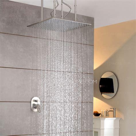 Designer Faucets Bathroom by Designer Square Shaped Hanging Bathroom Top Shower Faucets