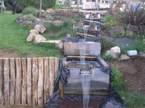 construire un bassin de jardin avec cascade bassin de jardin