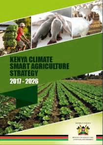 Kenya Climate-Smart Agriculture Strategy 2017-2026 ...