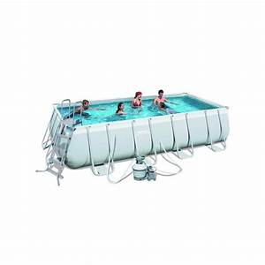 Filtre A Sable Piscine : piscine tubulaire rectangulaire bestway avec filtre sable ~ Dailycaller-alerts.com Idées de Décoration