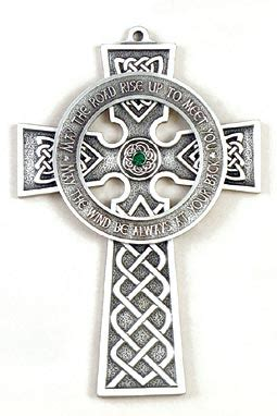 Pewter Celtic Wall Cross