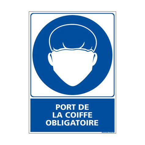 coiffe de cuisine panneau obligation port de la coiffe obligatoire e0378
