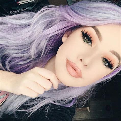 Best 25 Faded Purple Hair Ideas On Pinterest Colored