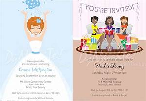 african american stationery african american bridal With wedding and baby shower combined invitations