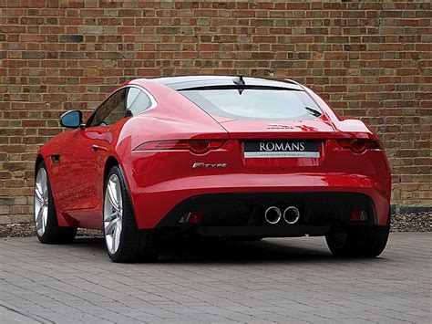 jaguar  type  coupe salsa red