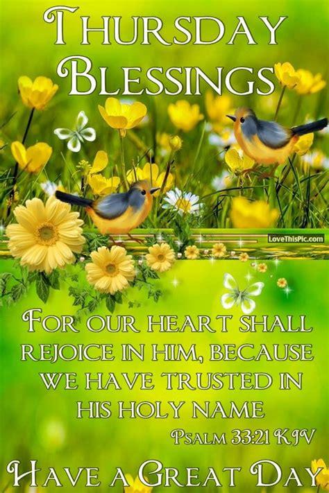 thursday blessings   heart  rejoice pictures