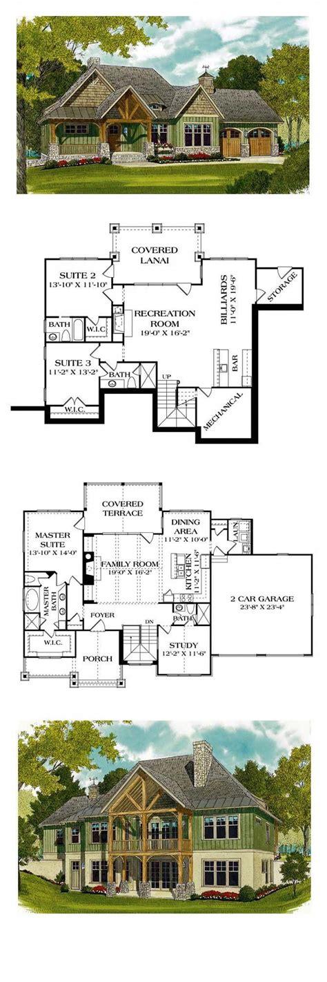 Walkout Basement #InteriorDesigns Lake house plans