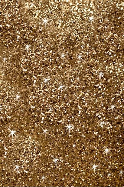 Glitter Sparkling Gold Texture Background Holiday Frame