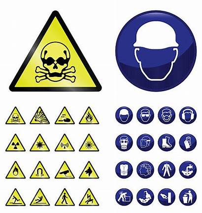 Safety Equipment Clip Illustrations Vector Hazard Signs