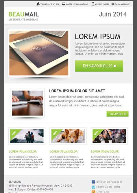 Email Brochure Template Email Brochure Template 265 Free Email Newsletter